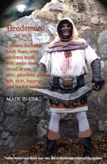Headsman Costume