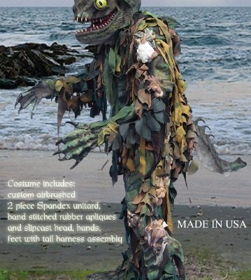 Merman - Sea Creature Monster Costume